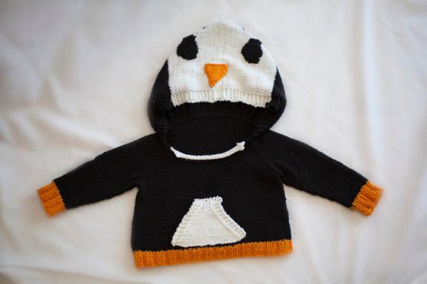Too Cute Penguin Baby Sweater I Like Knitting