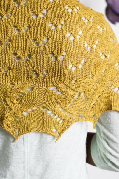 Breezy Butterfly Shawl I Like Knitting
