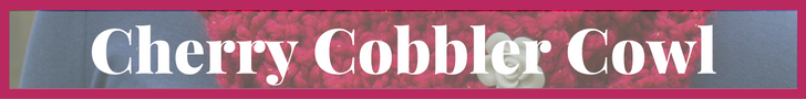 Cherry Cobbler Cowl
