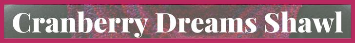 Cranberry Dreams Shawl
