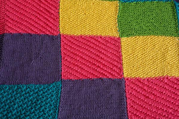 Crayon Box Sampler Afghan I Like Knitting