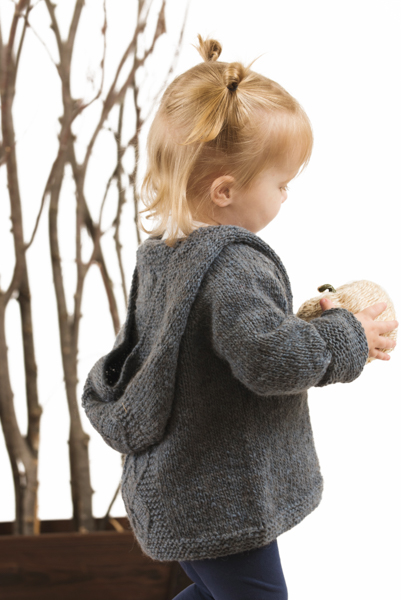 First Snow Day Childrens Hoodie Knitting Pattern I Like Knitting
