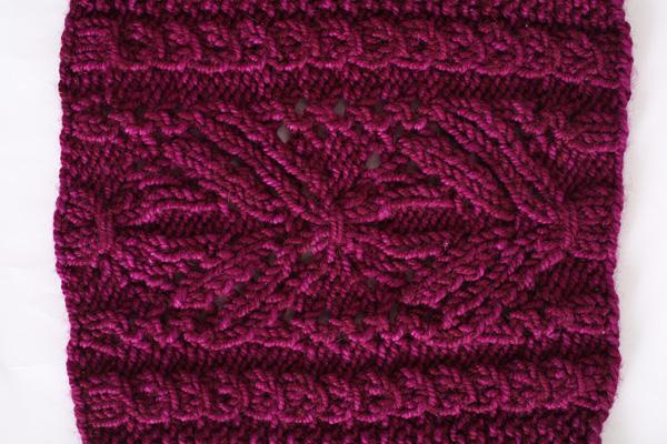 Fuchsia Fantasy Cowl I Like Knitting