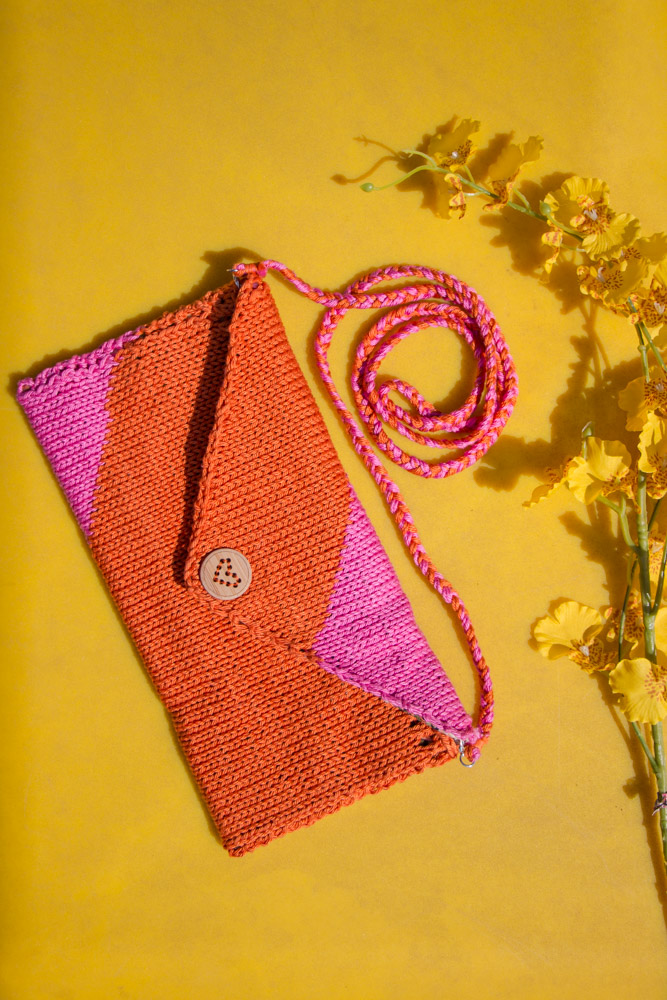 Have a Bright Day Envelope Clutch