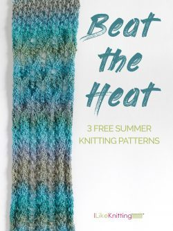 Beat the Heat: 3 Free Summer Knitting Patterns