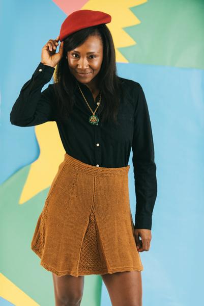 Golden Classic Skirt