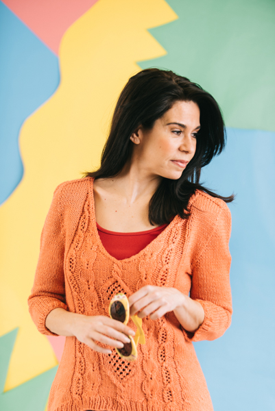 Tangerine Zest Pullover