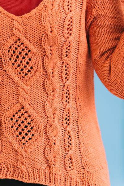 Tangerine Zest Pullover 2