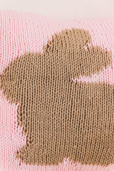 Peter Rabbit Pillow Blanket Set I Like Knitting