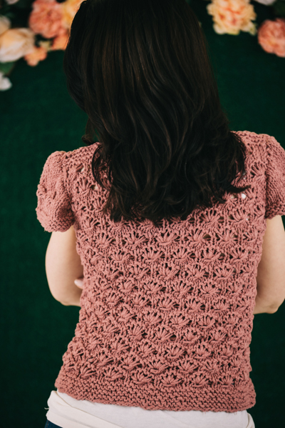 Strawberry Wine Top back