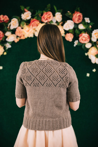 Romantic Vineyard Top back