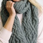 Fieldstone Cables Scarf