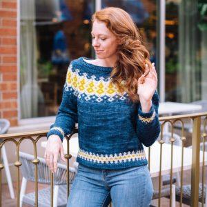 Kinsley Fair Isle Yoke Sweater