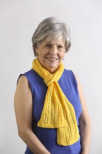 Lacy Columns Scarf