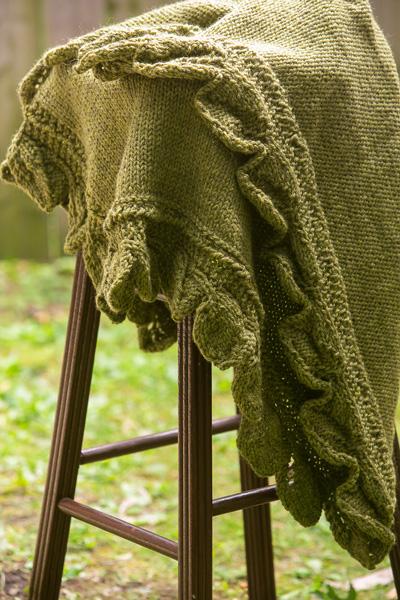 Fallen Forest Baby Blanket