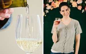 Moscato and Serene Sips Cardigan