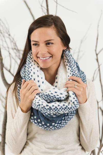 Mountain Air Infinity Scarf Knitting Pattern I Like Knitting
