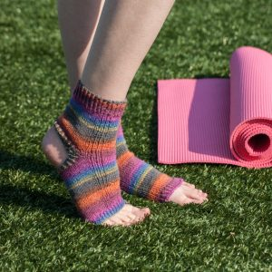 Namaste Knit Yoga Socks