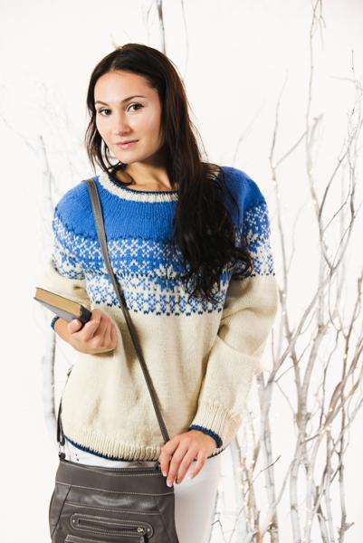 Nordic Night Pullover