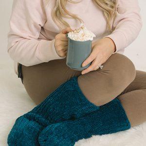 Sami Chenille Slipper Socks