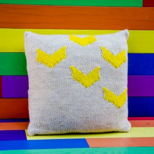 Vivid Chevron Pillow