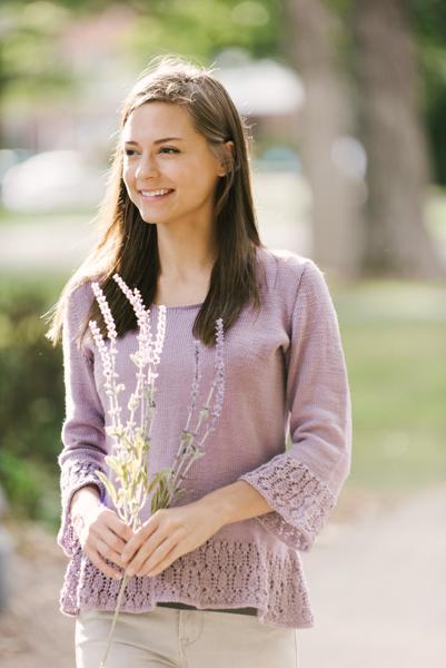 Wild Lavender Sweater