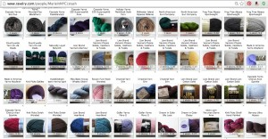 Yarn stash on Ravelry