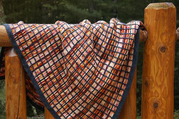 bonfire plaid blanket
