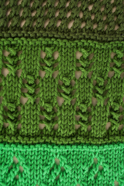 Greener Fields Baby Blanket