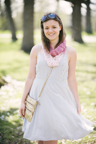 Rosewater Lace & Fabric Cowl