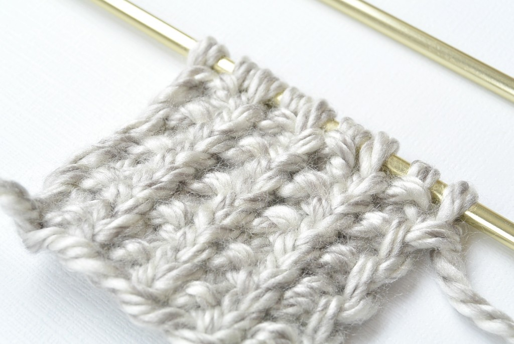 How To Knit The Broken Rib Knit Stitch I Like Knitting
