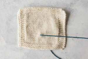 Step 1 Duplicate Stitch