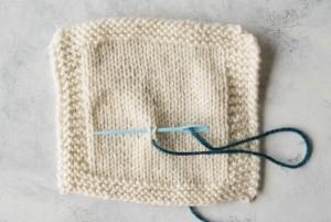 Step 2 Duplicate Stitch