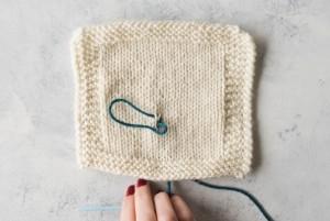 Step 4 Duplicate Stitch