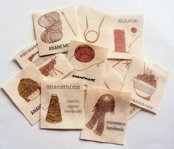 2eda52fc7998c Personalized Knitting Labels - I Like Knitting