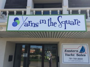yarns in the square sign